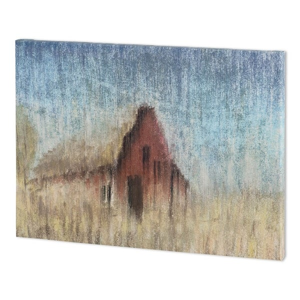 Mercana Barn House I (52 x 38 ) Made to Order Canvas Art