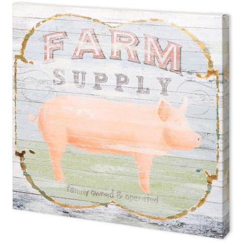 Mercana Farm Supply II (41 x 41) Made to Order Canvas Art