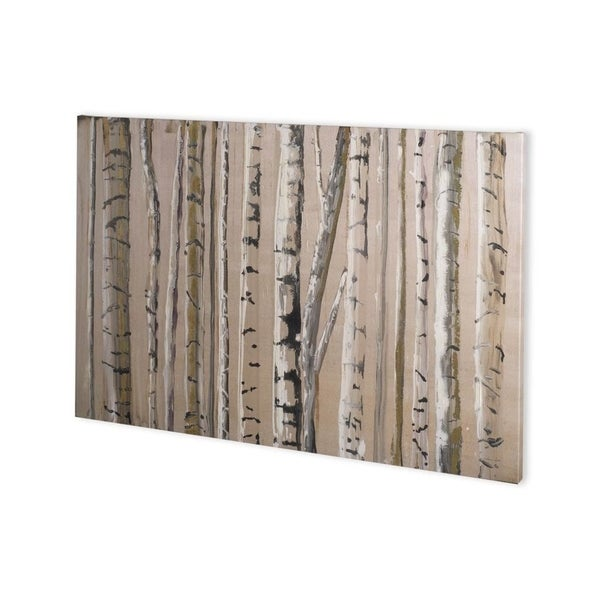 Mercana West Coast Birch 1 (44 x 30) Made to Order Canvas Art