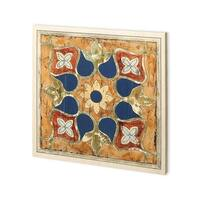 Mercana Vintage Woodblock II (30 x 30) Made to Order Canvas Art