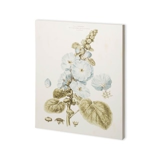 Mercana Bashful Blue Florals IV (30 x 37) Made to Order Canvas Art