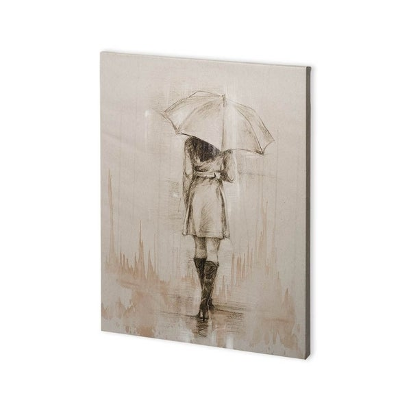 Mercana Rainy Day Rendevous I (30 x 40) Made to Order Canvas Art