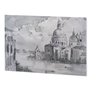 Mercana Water Side II (60 x 38 ) Made to Order Canvas Art