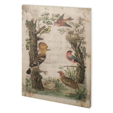 Mercana Woodpecker Sanctuary (44 x 58) Made to Order Canvas Art - Multi