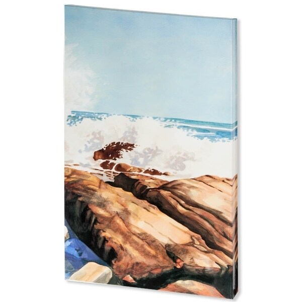 Mercana Sea Spray II ( 35 x 58 ) Made to Order Canvas Art