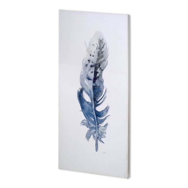 Mercana Feather I (36 x 72 ) Made to Order Canvas Art