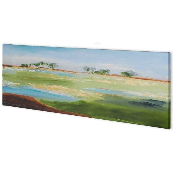 Mercana Green Pastures (73 x 24) Made to Order Canvas Art