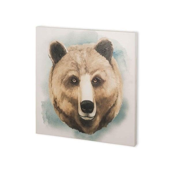 Mercana Greenwood Animals IV (30 x 30) Made to Order Canvas Art