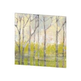 Mercana Whispering Treeline II (30 X 30) Made to Order Canvas Art