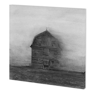 Mercana Barn House in Wind I (41 x 41) Made to Order Canvas Art