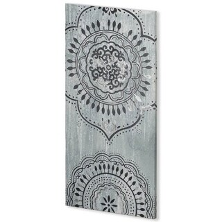 Mercana Indigo Mandala I (30 x 60) Made to Order Canvas Art