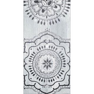 Mercana Indigo Mandala II (30 x 60) Made to Order Canvas Art