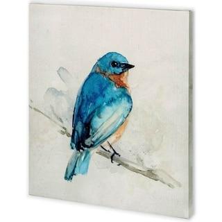 Mercana Eastern Blue I (44 x 48) Made to Order Canvas Art
