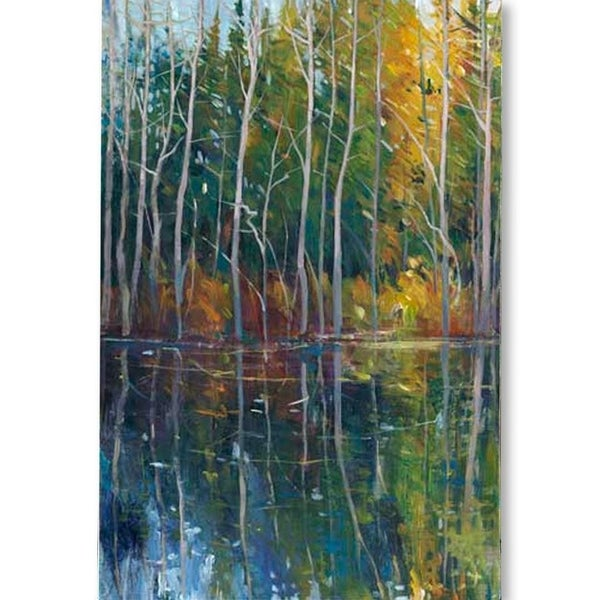 Mercana Pine Reflection II (MC) (40 X 60) Made to Order Canvas Art