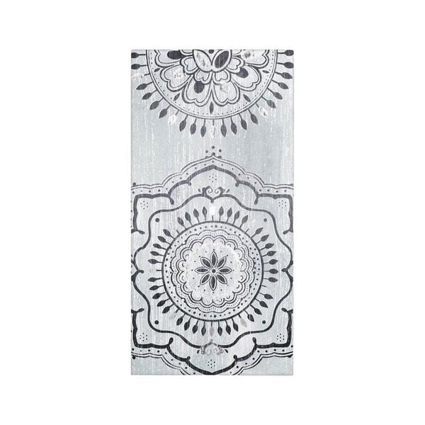 Mercana Indigo Mandala II (20 x 40) Made to Order Canvas Art