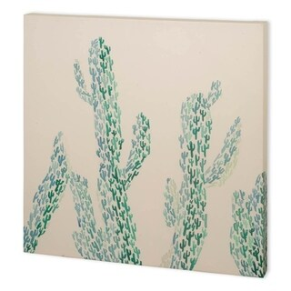 Mercana Cactus Maze I (41 x 41) Made to Order Canvas Art