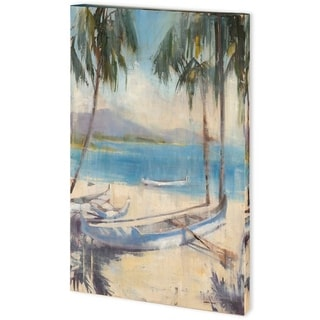 Mercana Ocean Palms II (38 x 58) Made to Order Canvas Art