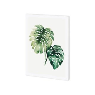 Mercana Tropical Plant II (30 x 37) Made to Order Canvas Art