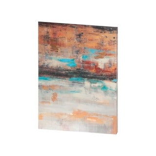 Mercana Teal Sunset I (29 X 38) Made to Order Canvas Art