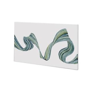 Mercana Ribbon Stream II (44 x 27) Made to Order Canvas Art