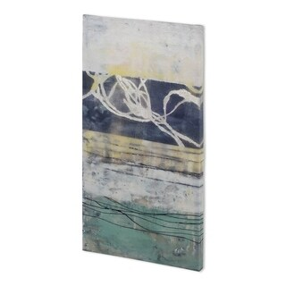 Mercana Lines & Waves I (30 x 60 ) Made to Order Canvas Art