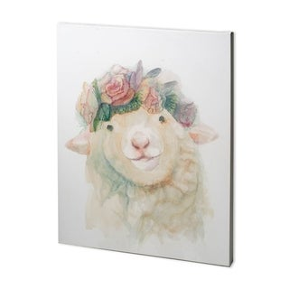 Mercana Flower Crown I (38 x 48) Made to Order Canvas Art