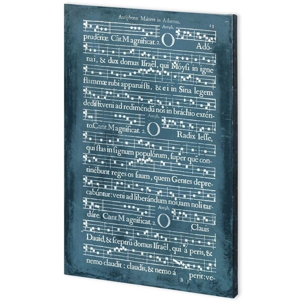 Mercana Graphic Songbook II (44 x 66) Made to Order Canvas Art
