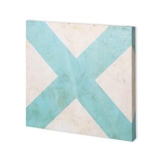 Mercana Seaside Signals III (30 x 30) Made to Order Canvas Art