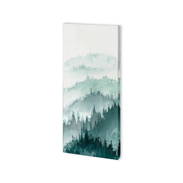 Mercana Waves of Tree II (24 x 48) Made to Order Canvas Art