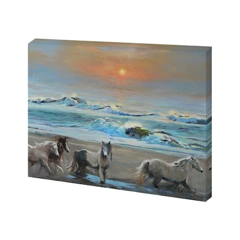 Mercana Dawn Passage (30 x 24) Made to Order Canvas Art - Multi