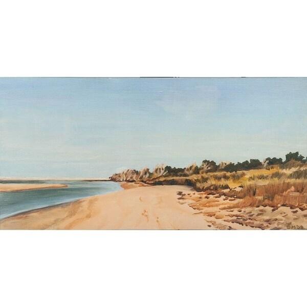Mercana The Sound Shoreline I ( 60 x 30 ) Made to Order Canvas Art