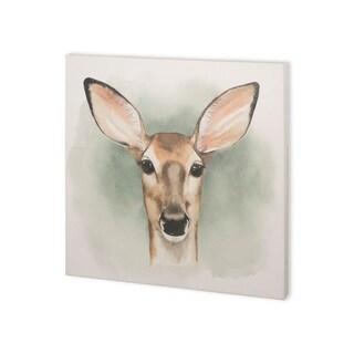 Mercana Greenwood Animals III (30 x 30) Made to Order Canvas Art