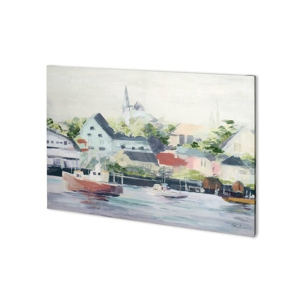Mercana Home Port I (41 x 30) Made to Order Canvas Art