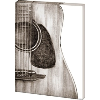 Mercana String Instrument Study III(42x56) Made to Order Canvas Art