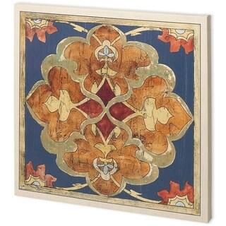 Mercana Vintage Woodblock III (44 x 44) Made to Order Canvas Art