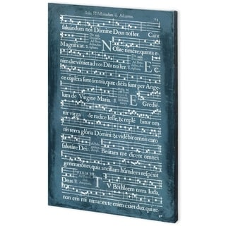 Mercana Graphic Songbook III (44 x 66) Made to Order Canvas Art