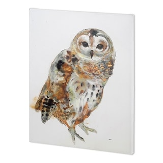 Mercana Owl II  (44 x 58 ) Made to Order Canvas Art