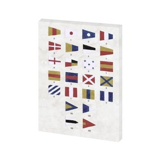 Mercana Nautical Numbers (26 x 38) Made to Order Canvas Art