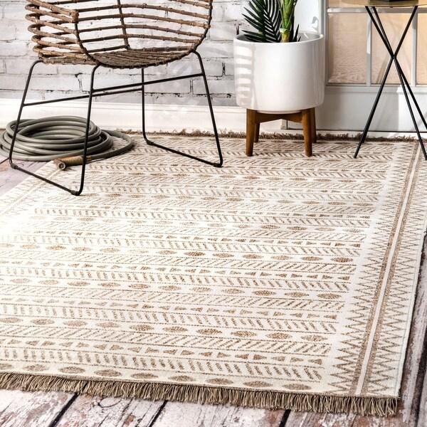 Shop NuLOOM Bohemian Geometric Moroccan Aztec Linear