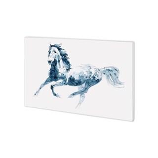 Mercana Sapphire Gallop II (38 x 26) Made to Order Canvas Art