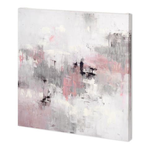 Mercana Refocus And Restart (44 x 44 ) Made to Order Canvas Art