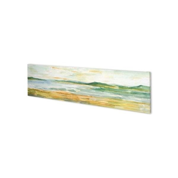 Mercana Panoramic Seascape I (54 x 15) Made to Order Canvas Art