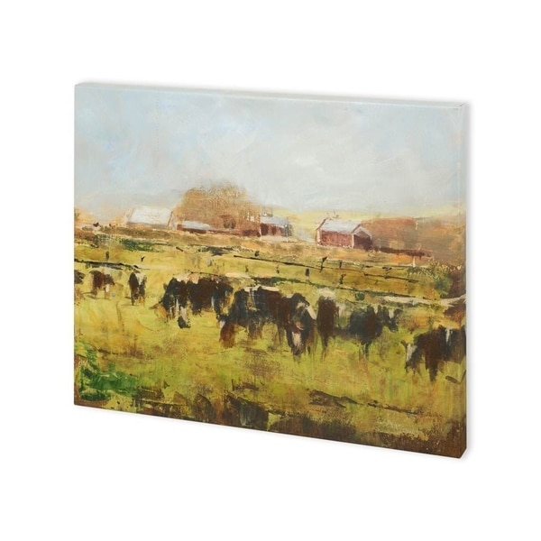 Mercana Out to Pasture II (40 x 30) Made to Order Canvas Art