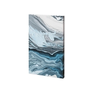 Mercana Winter River I (24 x 39) Made to Order Canvas Art