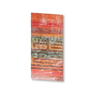 Mercana The Language of Color II (38 X 19) Made to Order Canvas Art