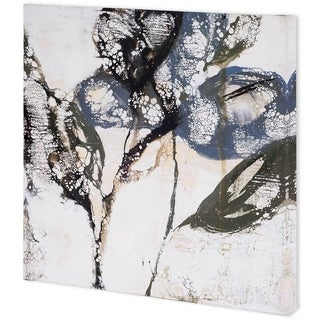 Mercana Crackled Stems I (41 x 41) Made to Order Canvas Art