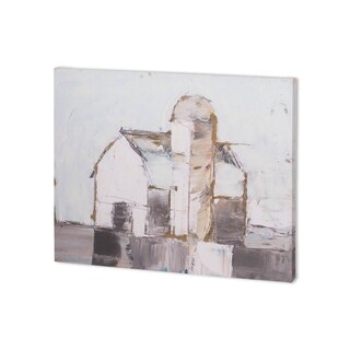 Mercana Barn & Silo I (40 x 30 ) Made to Order Canvas Art