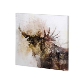 Mercana Moose Call (30 x 30 ) Made to Order Canvas Art