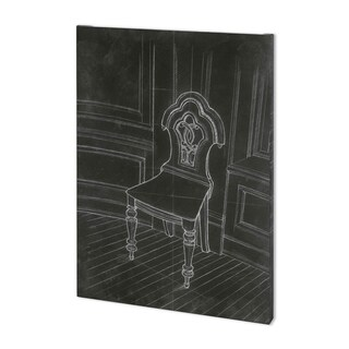 Mercana Chair Craigdarroch II (40 x 54) Made to Order Canvas Art