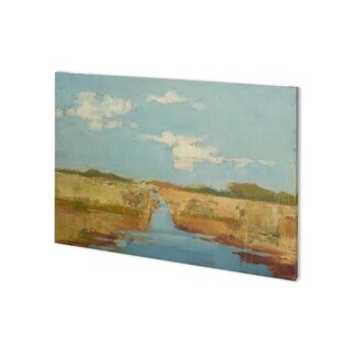 Mercana Summer Wetland I (38 x 28) Made to Order Canvas Art